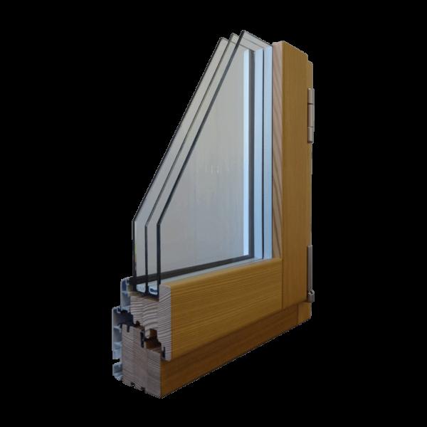 Serramento legno/alluminio LONG LIFE